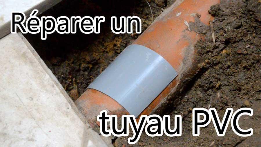 réparer les tuyaux pvc